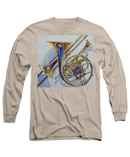 The Glow Of Brass Long Sleeve T-Shirt