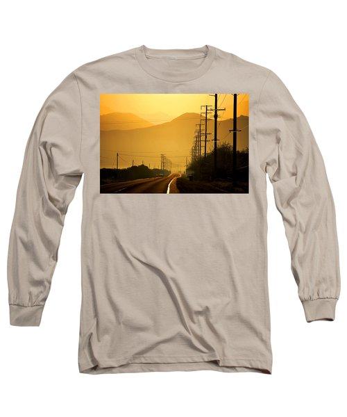 The Golden Road Long Sleeve T-Shirt by Matt Harang