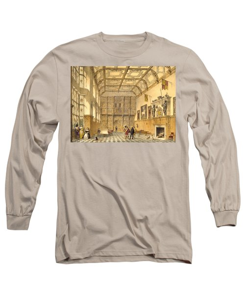 The Great Hall, Hatfield, Berkshire Long Sleeve T-Shirt