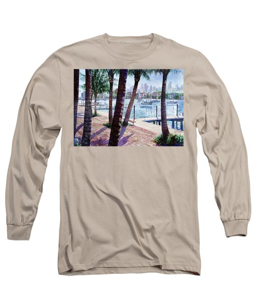 The Harbor Palms Long Sleeve T-Shirt
