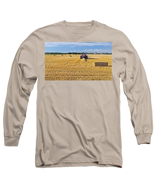 Long Sleeve T-Shirt featuring the photograph The Harvest by Keith Armstrong