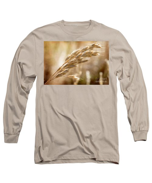 Long Sleeve T-Shirt featuring the photograph The Hot Gold Hush Of Noon by Linda Lees
