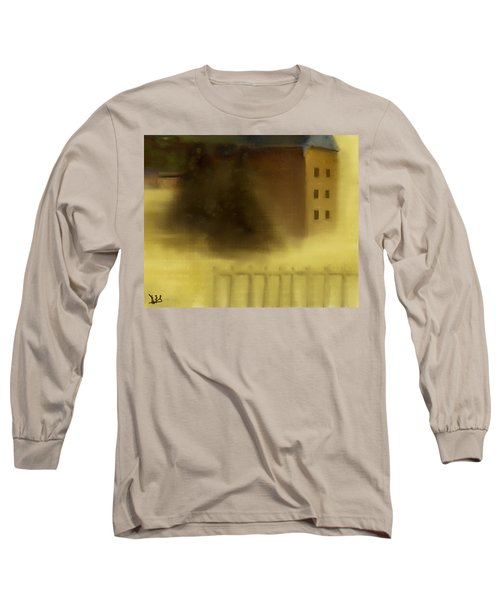 The House Beyond The Fence #c-2 Long Sleeve T-Shirt