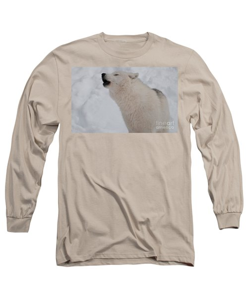 Long Sleeve T-Shirt featuring the photograph The Howler by Bianca Nadeau