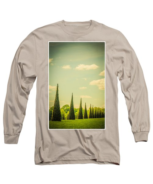 The Knot Garden's Triangular Landscaping Long Sleeve T-Shirt