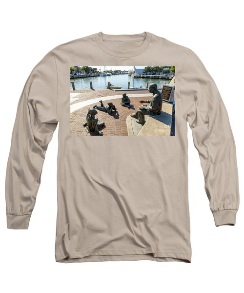 The Kunta Kinte-alex Haley Memorial In Annapolis Long Sleeve T-Shirt