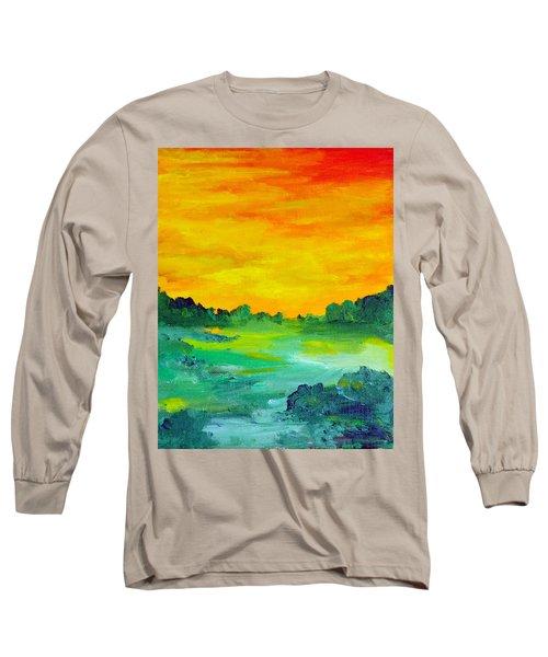 The  Lagoon Long Sleeve T-Shirt