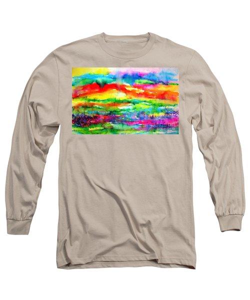 The Living Desert Long Sleeve T-Shirt by Hazel Holland
