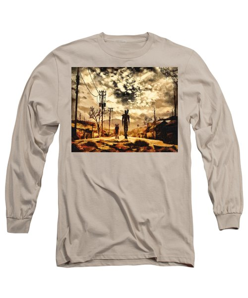 The Lone Wanderer Long Sleeve T-Shirt