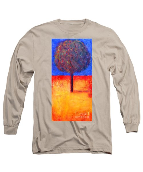 The Lonely Tree In Autumn Long Sleeve T-Shirt