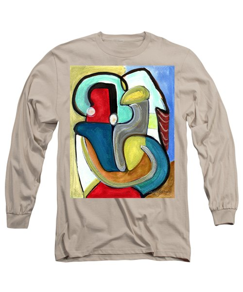 The Lovers Long Sleeve T-Shirt by Stephen Lucas