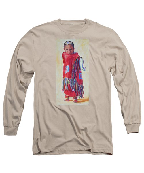 The March Of Red Butterfly Long Sleeve T-Shirt