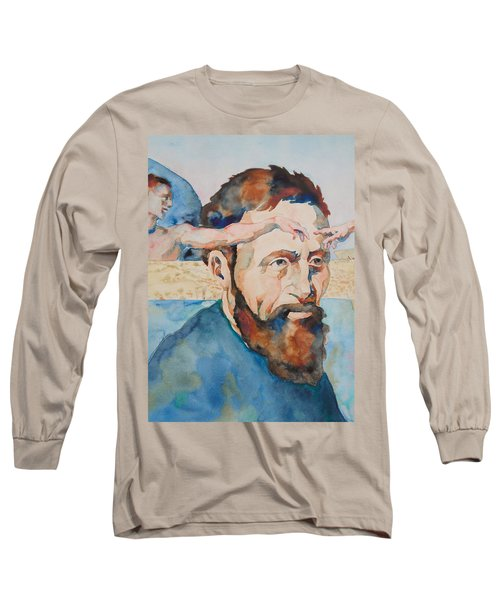 The Mind Of Michelangelo Long Sleeve T-Shirt