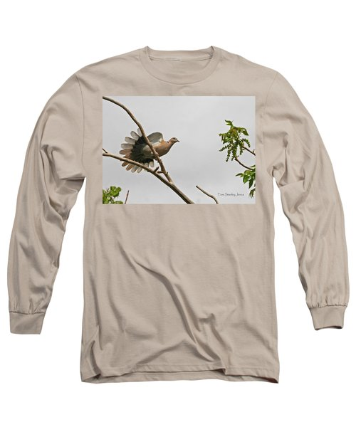 The New Dove In Town Long Sleeve T-Shirt by Tom Janca