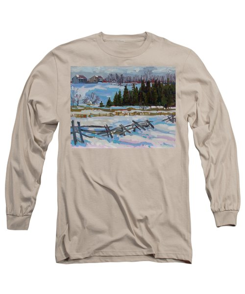 The Ninth Line Long Sleeve T-Shirt