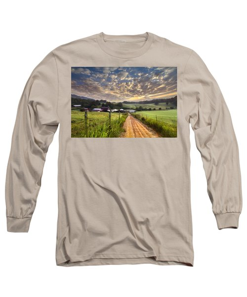 The Old Farm Lane Long Sleeve T-Shirt