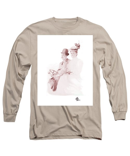 The Old Gray Mare Long Sleeve T-Shirt by C Sitton