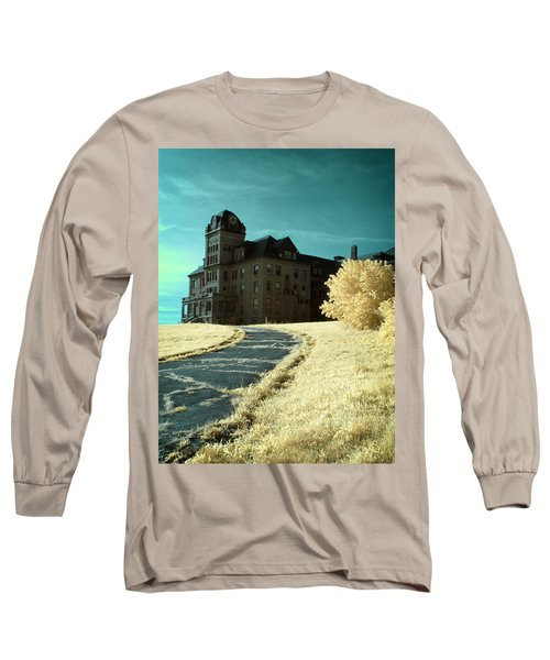 The Old Odd Fellows Home Color Long Sleeve T-Shirt