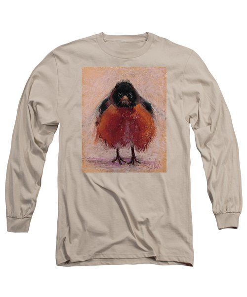 The Original Angry Bird Long Sleeve T-Shirt by Billie Colson