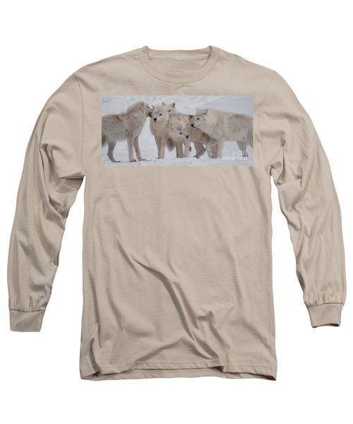 The Pack Long Sleeve T-Shirt by Bianca Nadeau
