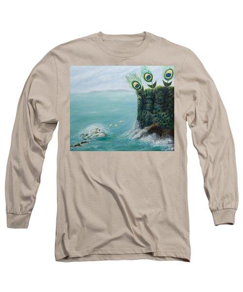 The Peacock Cliffs Long Sleeve T-Shirt