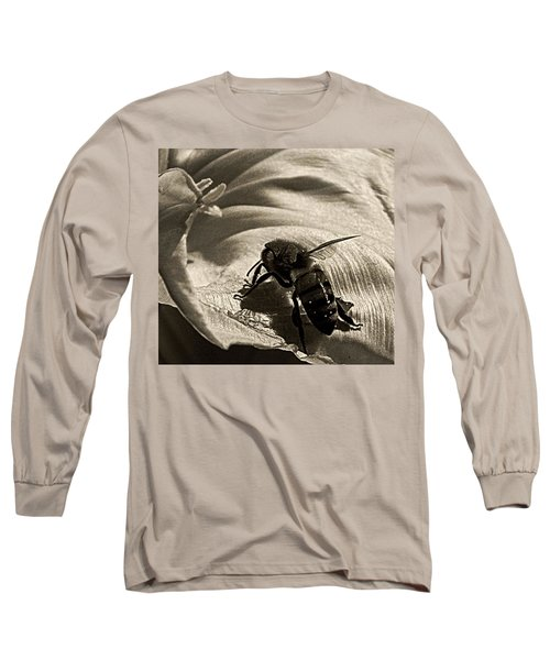 The Pollinator Long Sleeve T-Shirt by Chris Berry