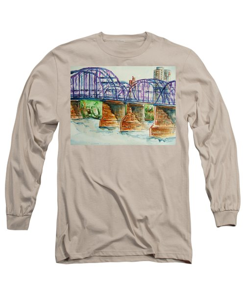 The Purple People Bridge Long Sleeve T-Shirt