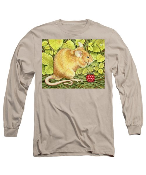 The Raspberry Mouse Long Sleeve T-Shirt
