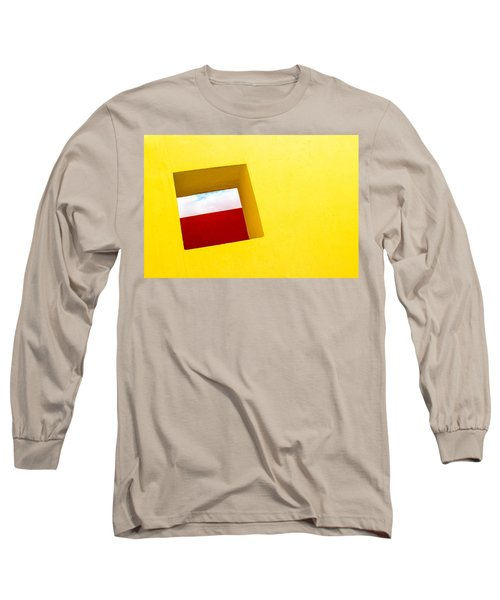 the Red Rectangle Long Sleeve T-Shirt