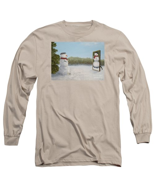 The Right Mirror Long Sleeve T-Shirt