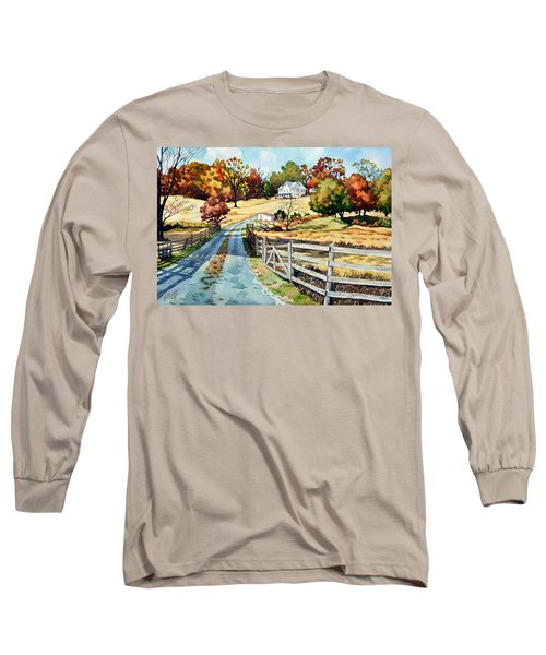 The Road To The Horse Farm Long Sleeve T-Shirt