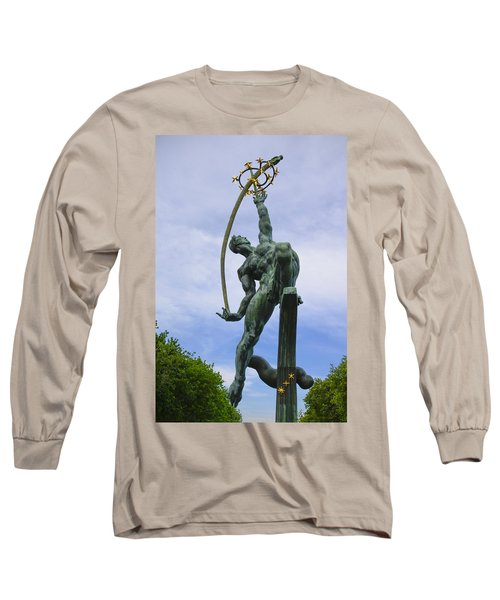The Rocket Thrower Long Sleeve T-Shirt