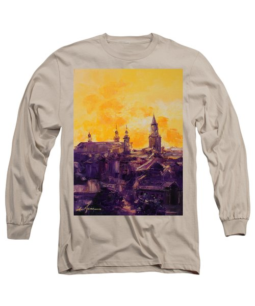 The Roofs Of Lublin Long Sleeve T-Shirt