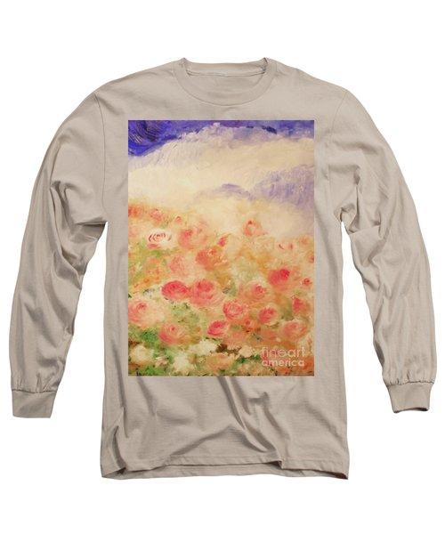 The Rose Bush Long Sleeve T-Shirt