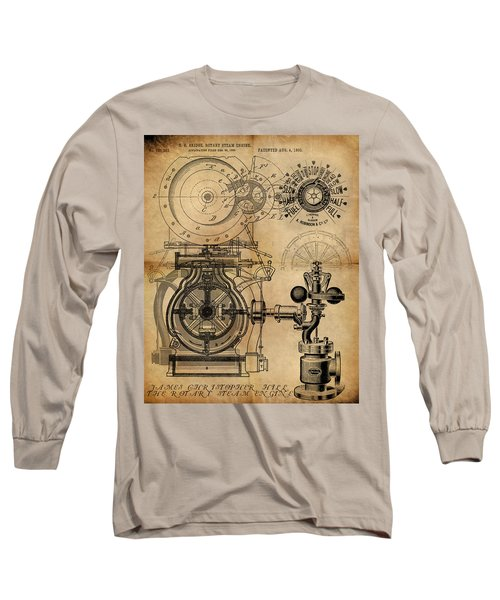 The Rotary Engine Long Sleeve T-Shirt