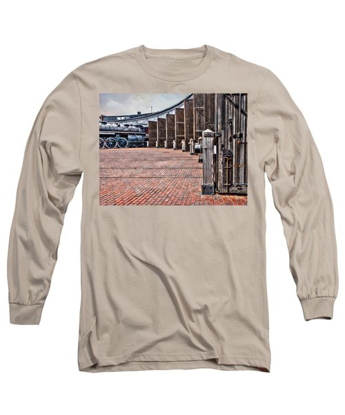 The Roundhouse Long Sleeve T-Shirt by Keith Armstrong