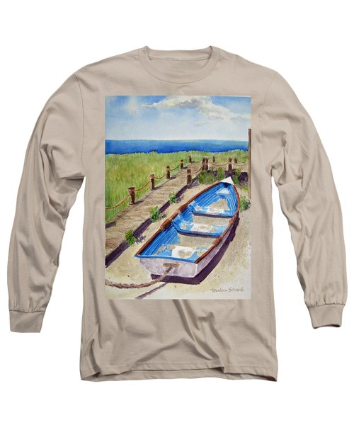 The Sandy Boat Long Sleeve T-Shirt