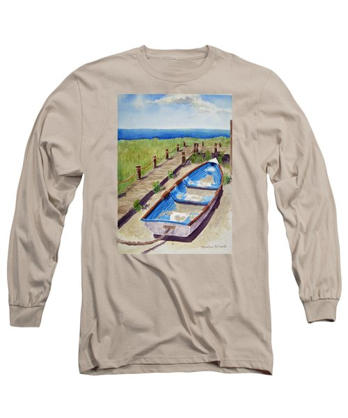 The Sandy Boat Long Sleeve T-Shirt