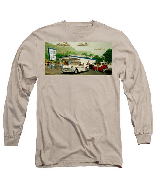 The Shake Shoppe Portsmouth Ohio 1960 Long Sleeve T-Shirt