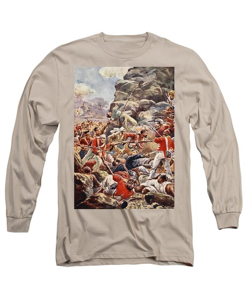 The Siege Of Delhi, 1857 Storming Long Sleeve T-Shirt