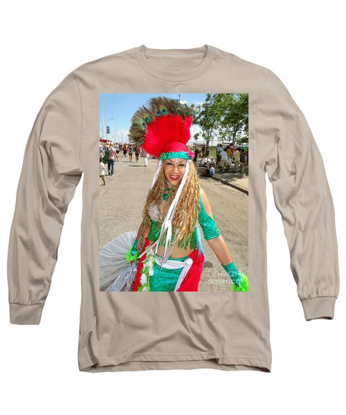 Long Sleeve T-Shirt featuring the photograph The Smile by Ed Weidman