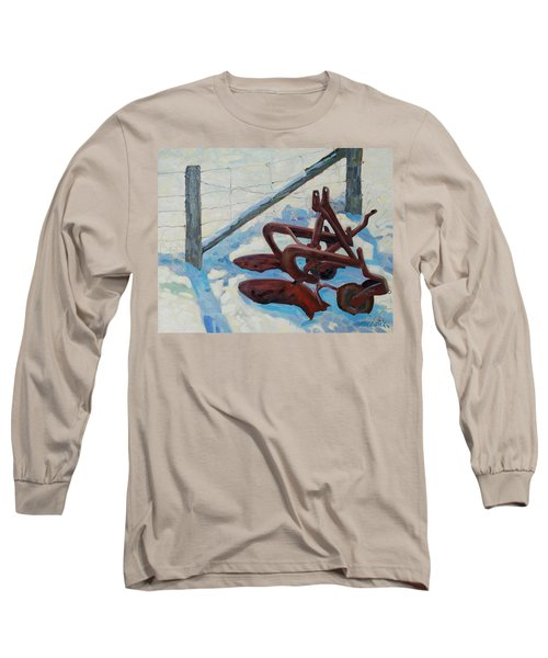 The Snow Plow Long Sleeve T-Shirt