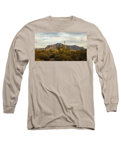 The Superstition Mountains Long Sleeve T-Shirt