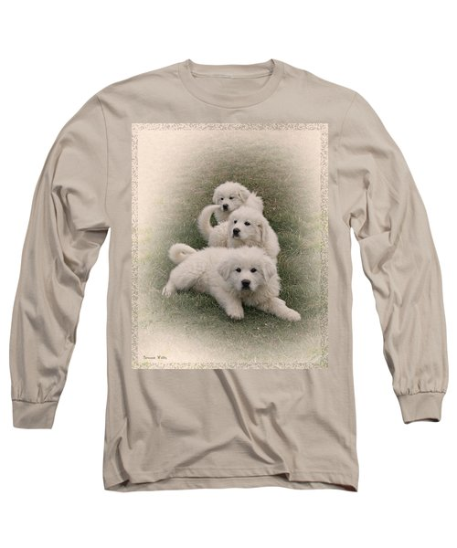 The Three Long Sleeve T-Shirt by Bonnie Willis