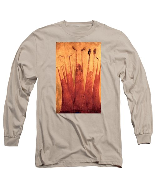 The Tree Of Weeping Long Sleeve T-Shirt