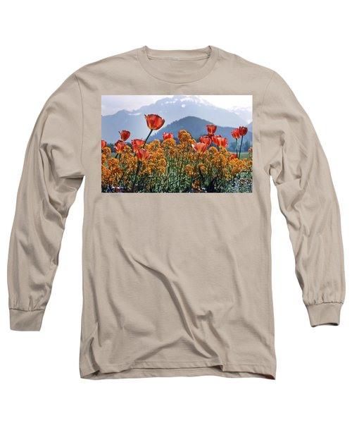The Tulips In Bloom Long Sleeve T-Shirt