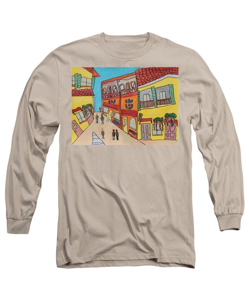 The Walled City Long Sleeve T-Shirt by Artists With Autism Inc