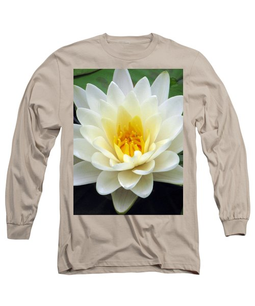 Long Sleeve T-Shirt featuring the photograph The Water Lilies Collection - 03 by Pamela Critchlow