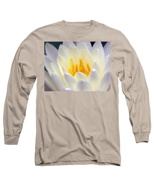 Long Sleeve T-Shirt featuring the photograph The Water Lilies Collection - 11 by Pamela Critchlow