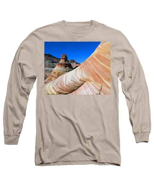 'the Wave' North Coyote Buttes 10 Long Sleeve T-Shirt